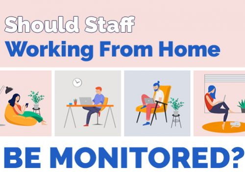 Should staff working from home be monitored?